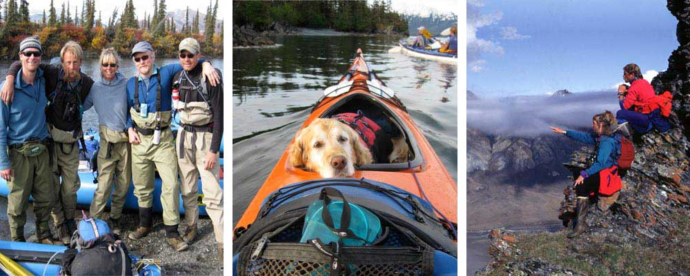 River Group, Kayak Dog, View